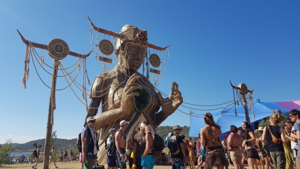 Mother Earth art at BOOM festival